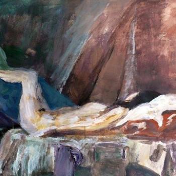 Diana sleeping