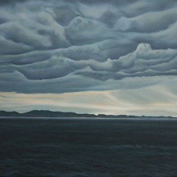 Northumberland-Sky,-oil-on-canvas,-70x50cm-