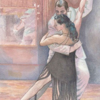 Tango-Eleanora-y-Martin-20-cm-x-27cm,-water-colour-
