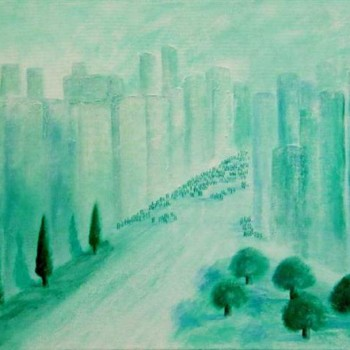 sky scraper city