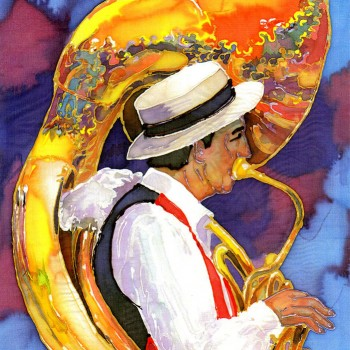 Sousaphone-Player