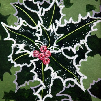 December - frosted holly-2