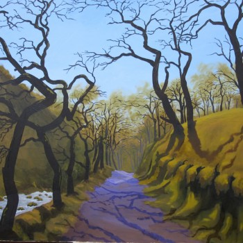 01 exmoor oil canvas 28 ins x 36 ins