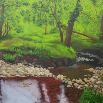 02 exmoor oil canvas 30 ins x 40 ins