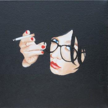 02 oil 3d canvas 25cm x 25cm
