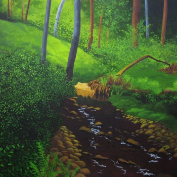 03 exmoor oil canvas 28 ins x 36 ins