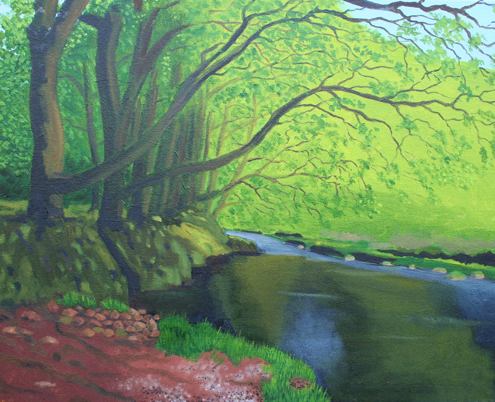 04 exmoor oil canvas 16 ins x 20 ins