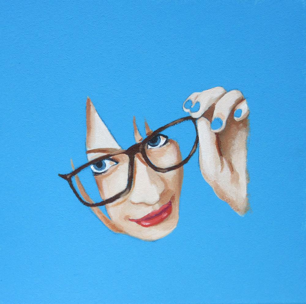 06 oil 3d canvas 25cm x 25cm