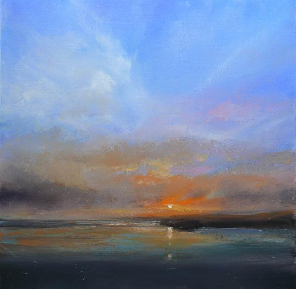 A sense of acheivement_Oil on canvas_50x50cm