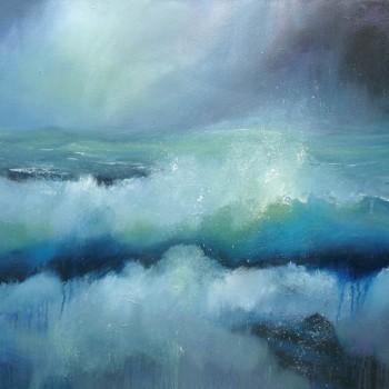 Momentum_Oil on canvas_60x70cm